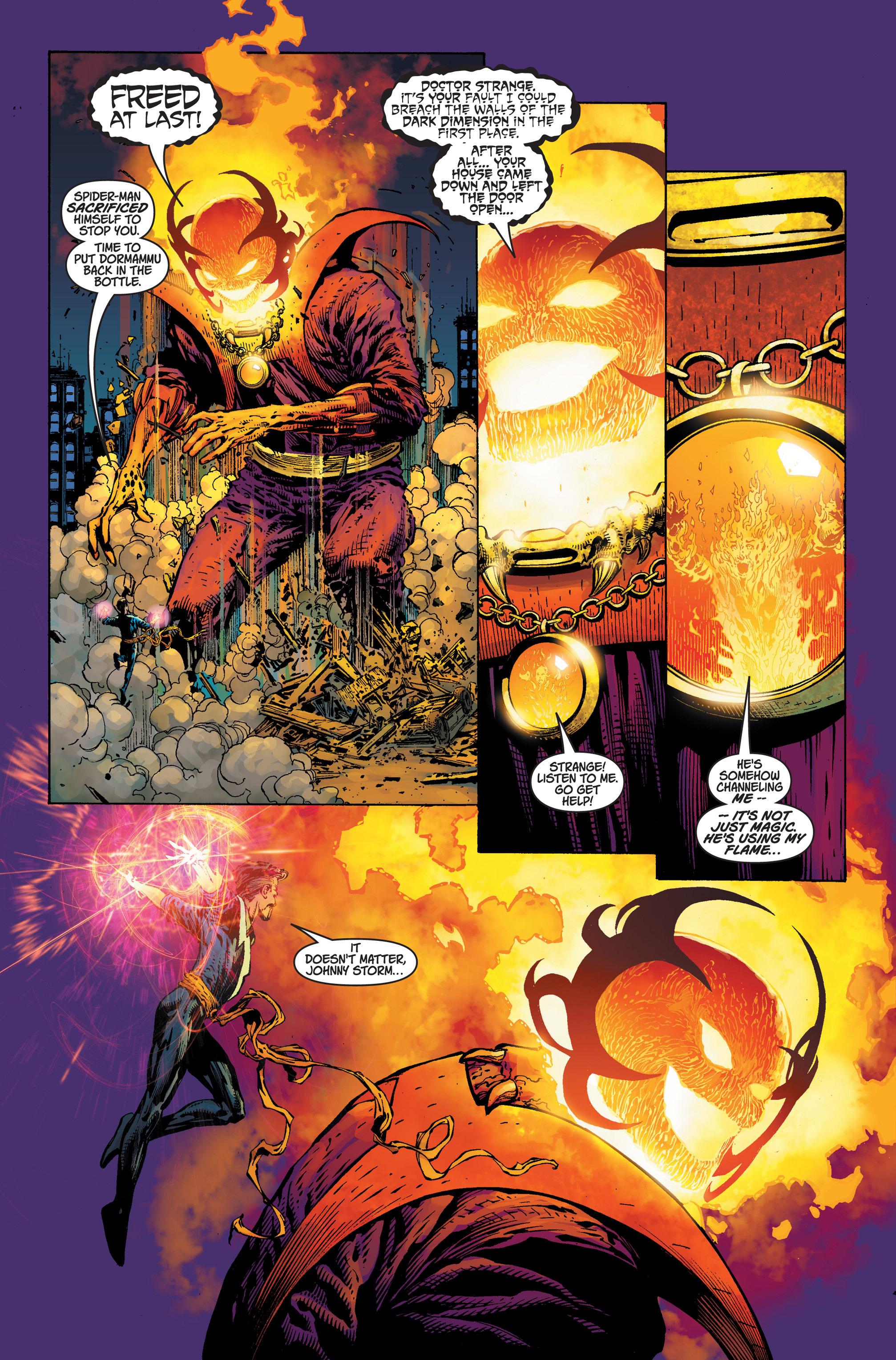 Read online Ultimatum comic -  Issue #4 - 5