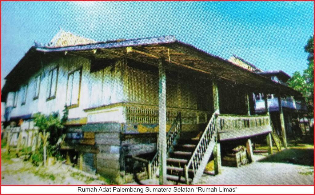 Rumah Adat Sumatera Selatan Lengkap Gambar Dan
