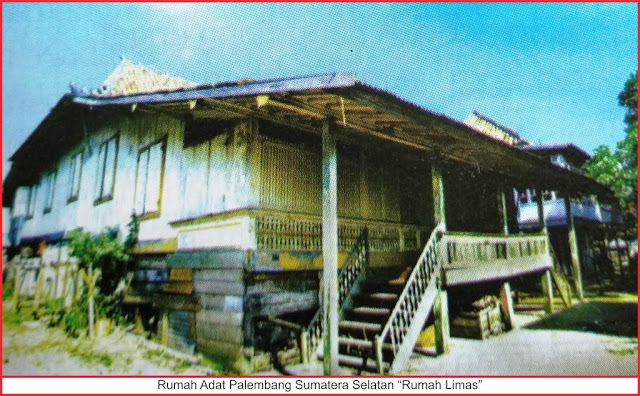 gambar rumah adat palembang sumatera selatan