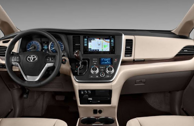 2018 Toyota Sienna Release Date Detroit Auto Show