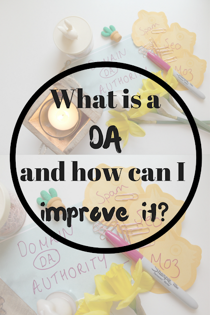 What is a 'DA' and how can I improve mine? Nourish ME: www.nourishmeblog.co.uk