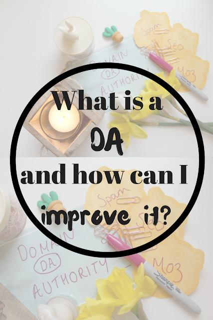 What is a 'DA' and how can I improve mine? Nourish ME: www.nourishmeblog.co.uk