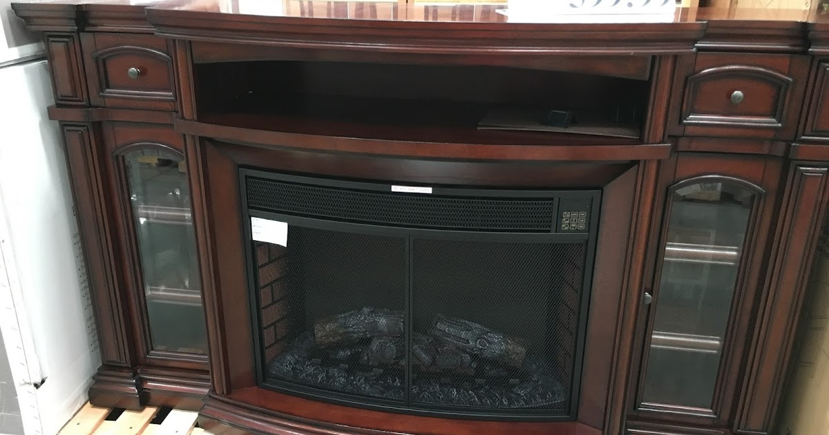 "Green Entertainment Center Costco: Well Universal 72"" Electric Fireplace Media Mantle"