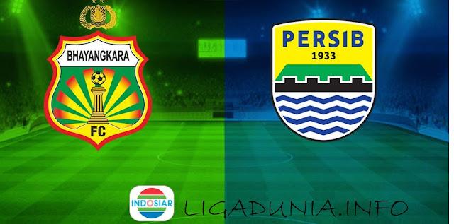 Live Streaming Liga 1 di Indosiar: Bhayangkara FC vs Persib Bandung