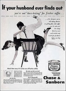 vintage housewife ad