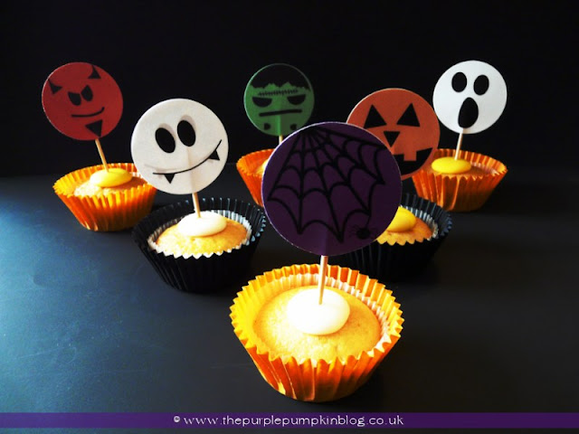 Halloween Toppers at The Purple Pumpkin Blog