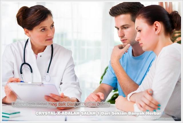 manfaat crystal x untuk program hamil