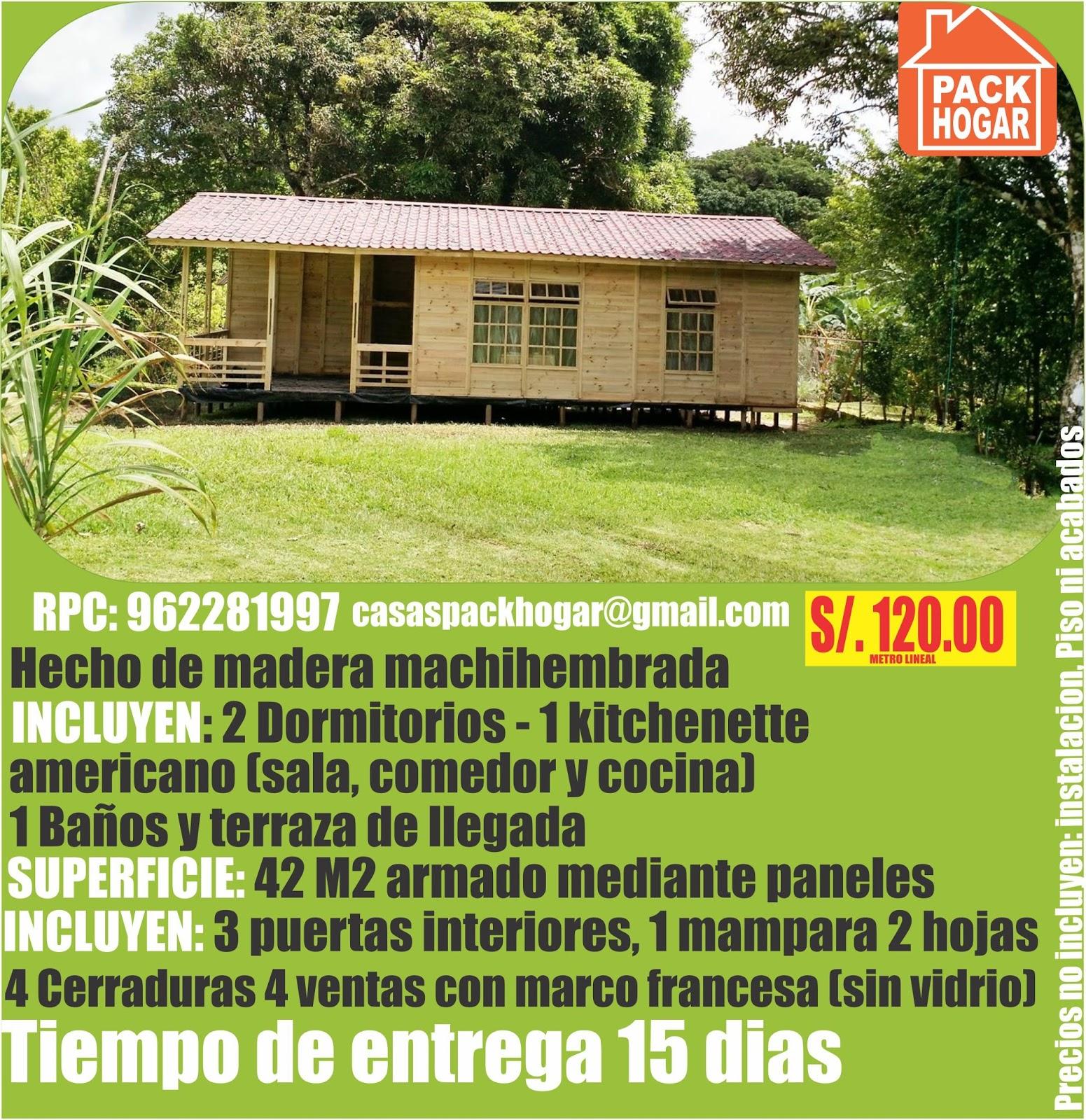 Casas de madera casas de campo casas de playa - Casas de campo madera ...
