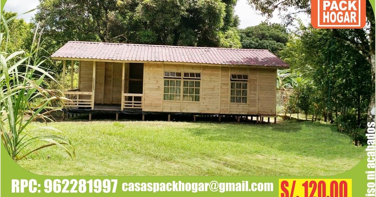 Casas de madera casas de campo casas de playa - Casas de madera para campo ...