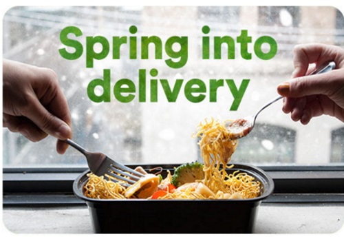 JustEat 15% Off Spring Into Delivery Promo Code