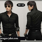 jas exclusive Kemeja hitam SK12
