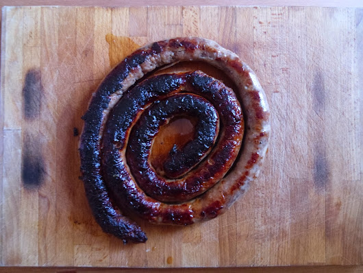 How not to make sausages...
