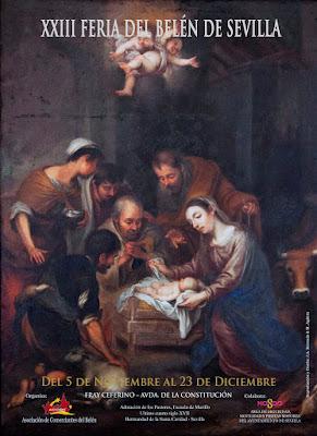 XXIII FERIA DEL BELÉN - SEVILLA 2016 - Adoración de los pastores - Escuela de Murillo Siglo XVII - Hermandad de la Santa Caridad - SEVILLA