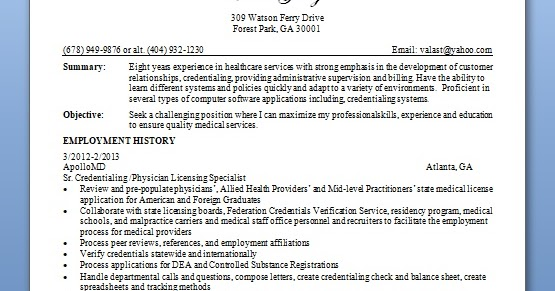 physician sample resume format in word free download