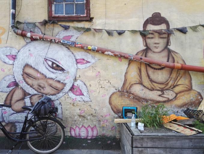 Katutaidetta ja seinämaalauksia - Christiania on hyvä kohde taiteen ystävälle!