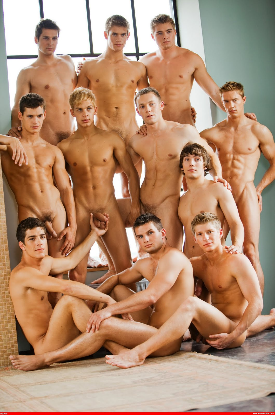 Join. naked men posing nude god knows!