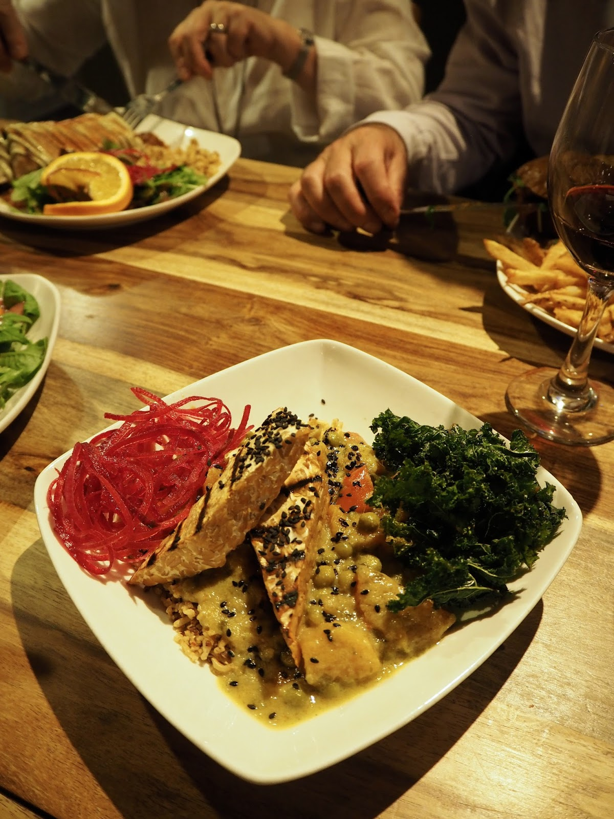 Lola Rosa vegetarian and vegan restaurant review Montreal
