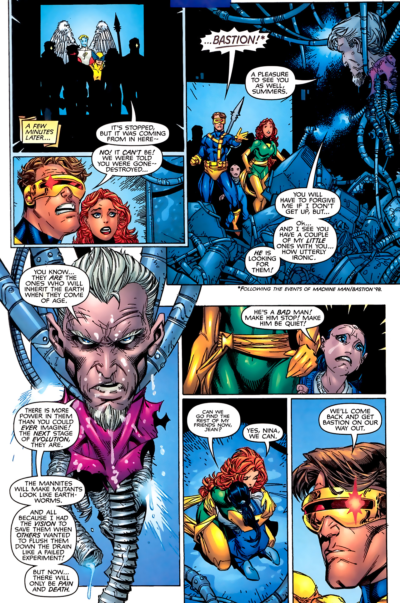 Read online Astonishing X-Men (1999) comic -  Issue #1 - 16