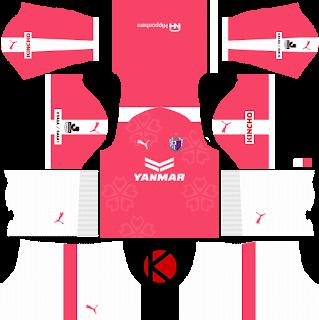 Cerezo Osaka セレッソ大阪 Kits 2018 - Dream League Soccer Kits