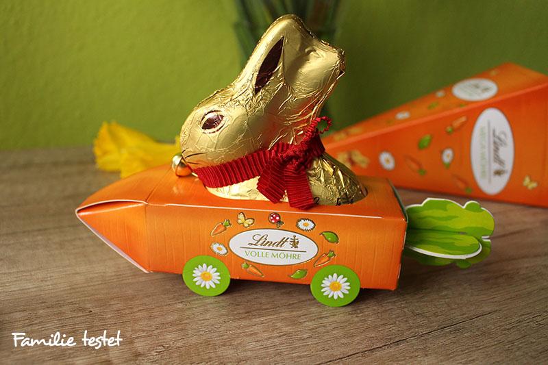 Ostern Schokolade Lindt Möhre Goldhase