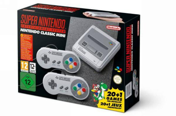 نينتندو تعلن عن موعد إطلاق منصتها Super NES Classic ولائحة الألعاب المنتظرة