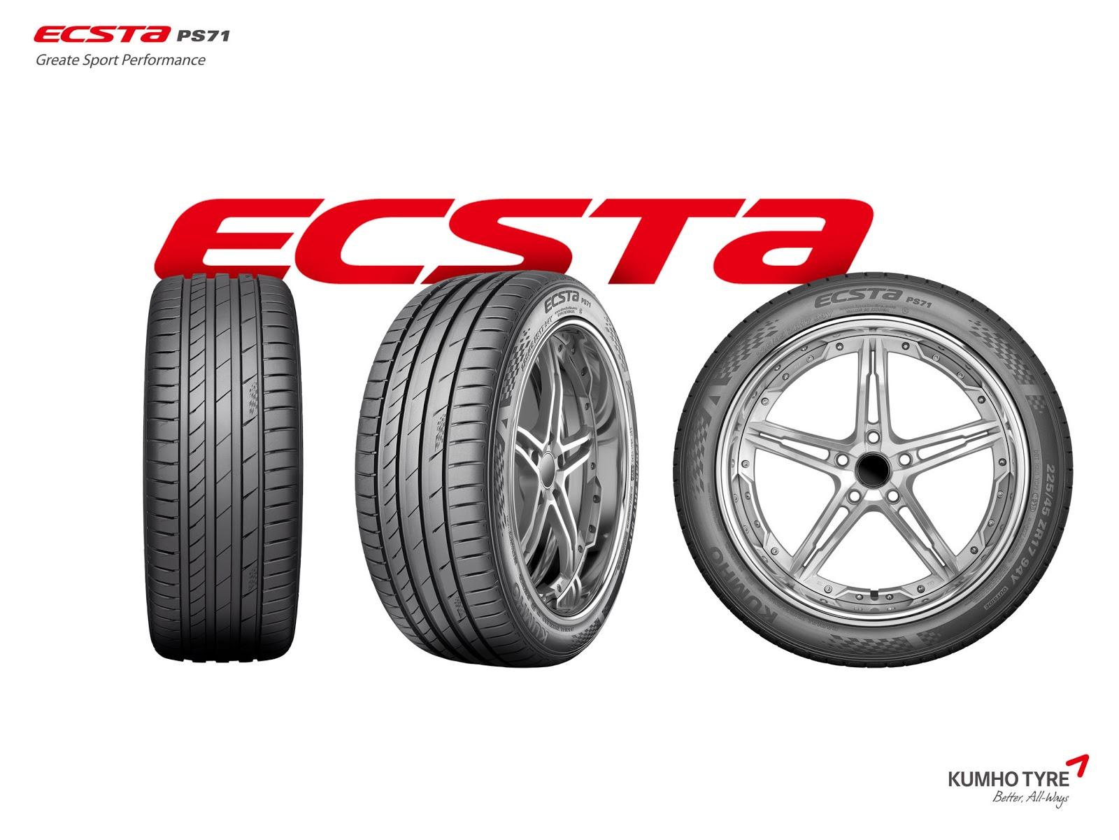 Νέα, διεθνή βραβεία σχεδίασης για την Kumho με τα ECSTA PS71 και Smasher