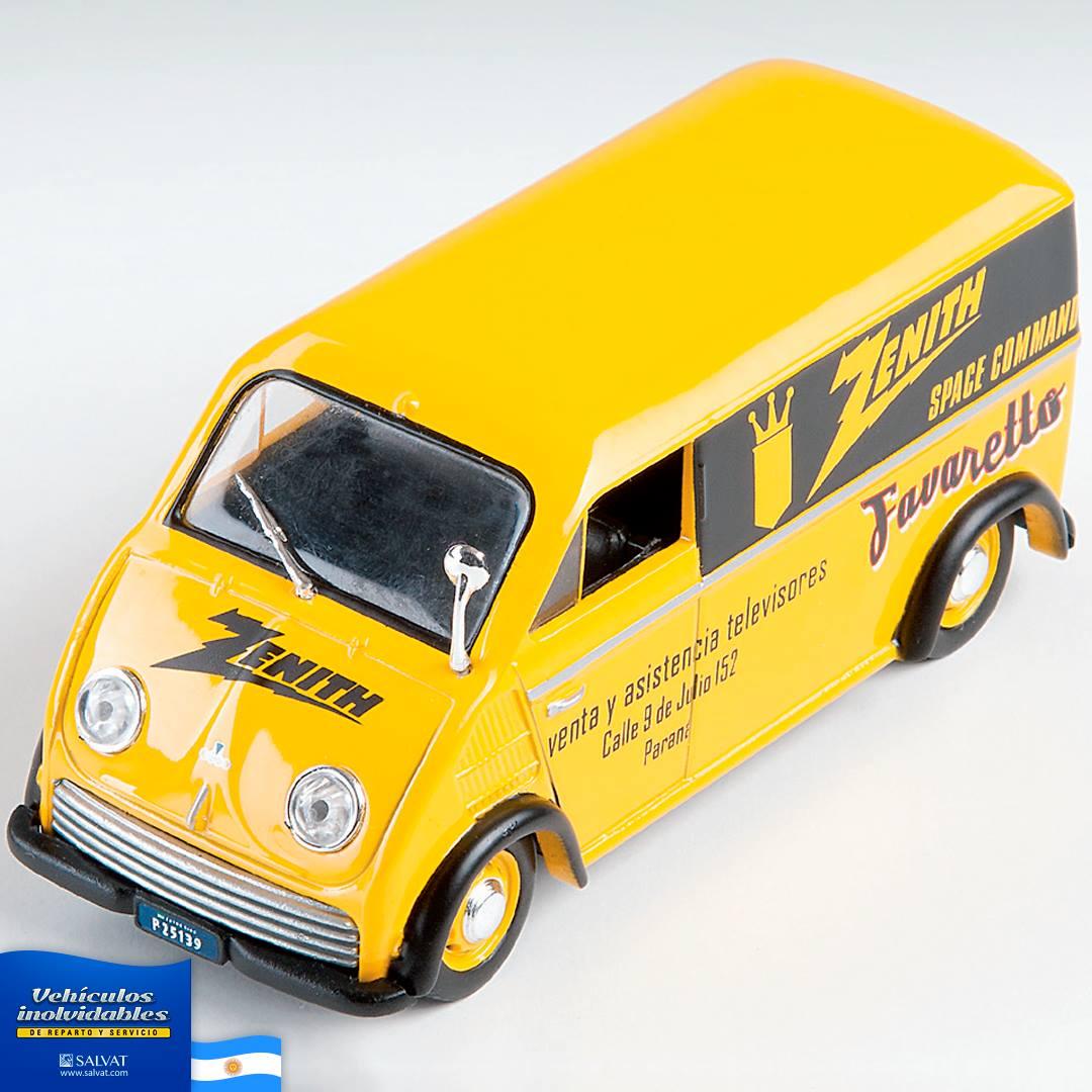 IME Rastrojero F71 Transporte Escolar 1971 Colección Argentina Salvat 1:43