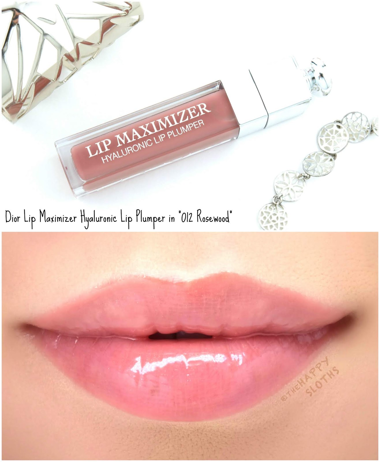 "Dior | Lip Maximizer Hyaluronic Lip Plumper in ""012 Rosewood"": Review and Swatches"