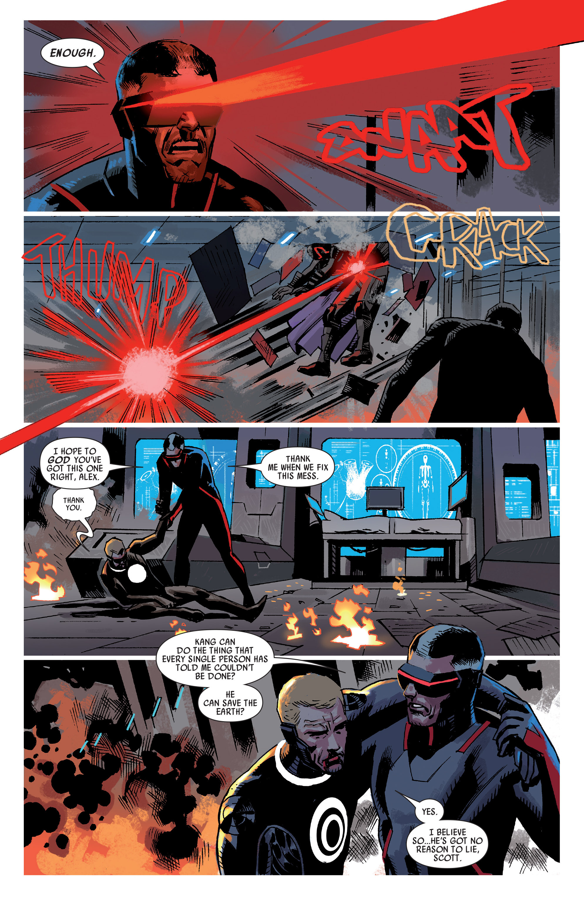 Read online Uncanny Avengers (2012) comic -  Issue #20 - 7