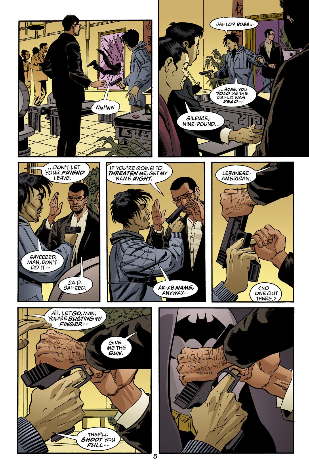 Detective Comics (1937) 769 Page 5