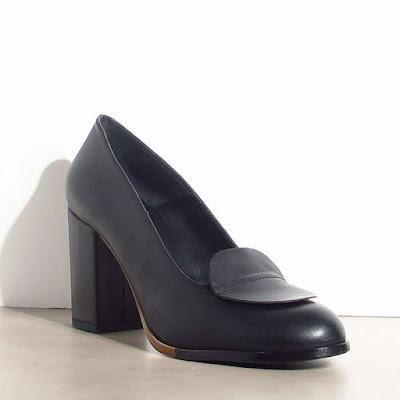 Escarpins Megumi Ochi cuir noir