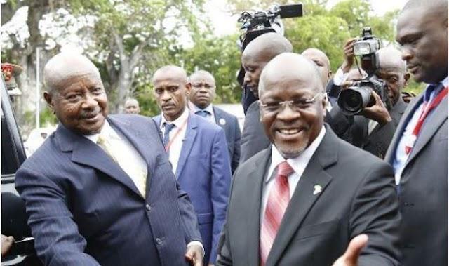 Rais Museveni Kutua Chato