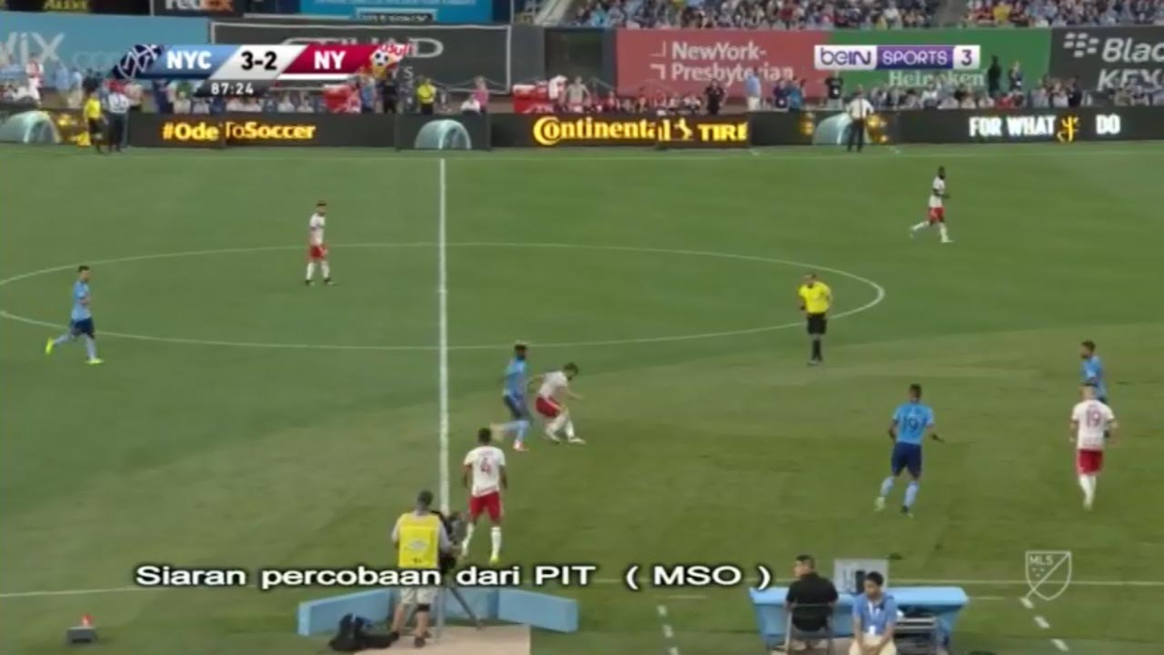 Frekuensi siaran Bein Sports 3 Indonesia di satelit Palapa D Terbaru