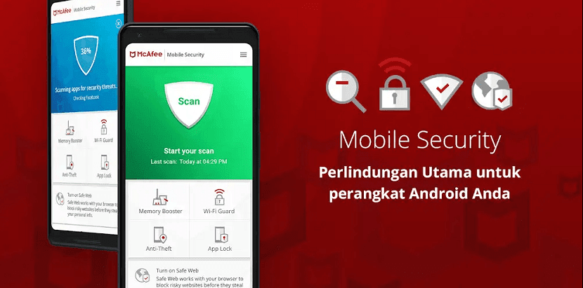 McAfee Mobile Security Android Terbaik