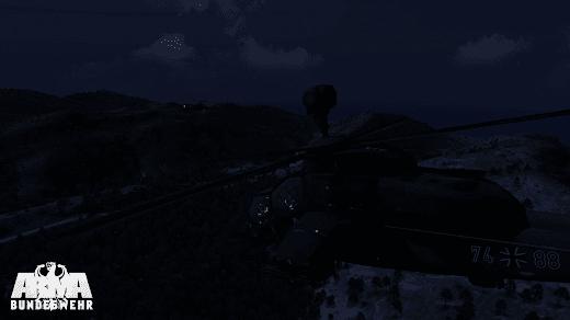 Arma3用ドイツ連邦軍のEurocopter Tiger 攻撃ヘリコプター