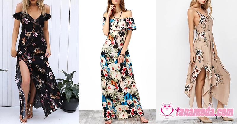 Top 6 Vestidos Florais Bohemian para Arrasar