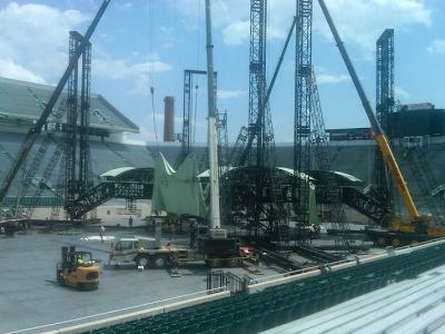 U2 360 Tour Spartan Stadium.