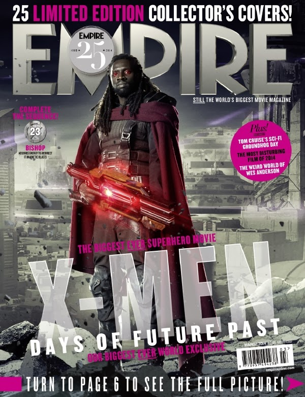 Empire covers X-Men: Days of Future Past: Bishop
