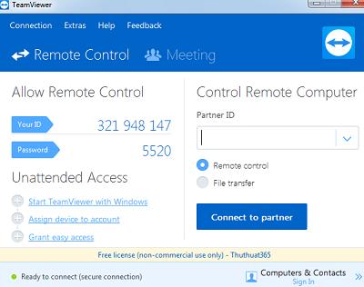 Cách cài đặt phần mềm Teamviewer - Điều khiển máy tính từ xa-1