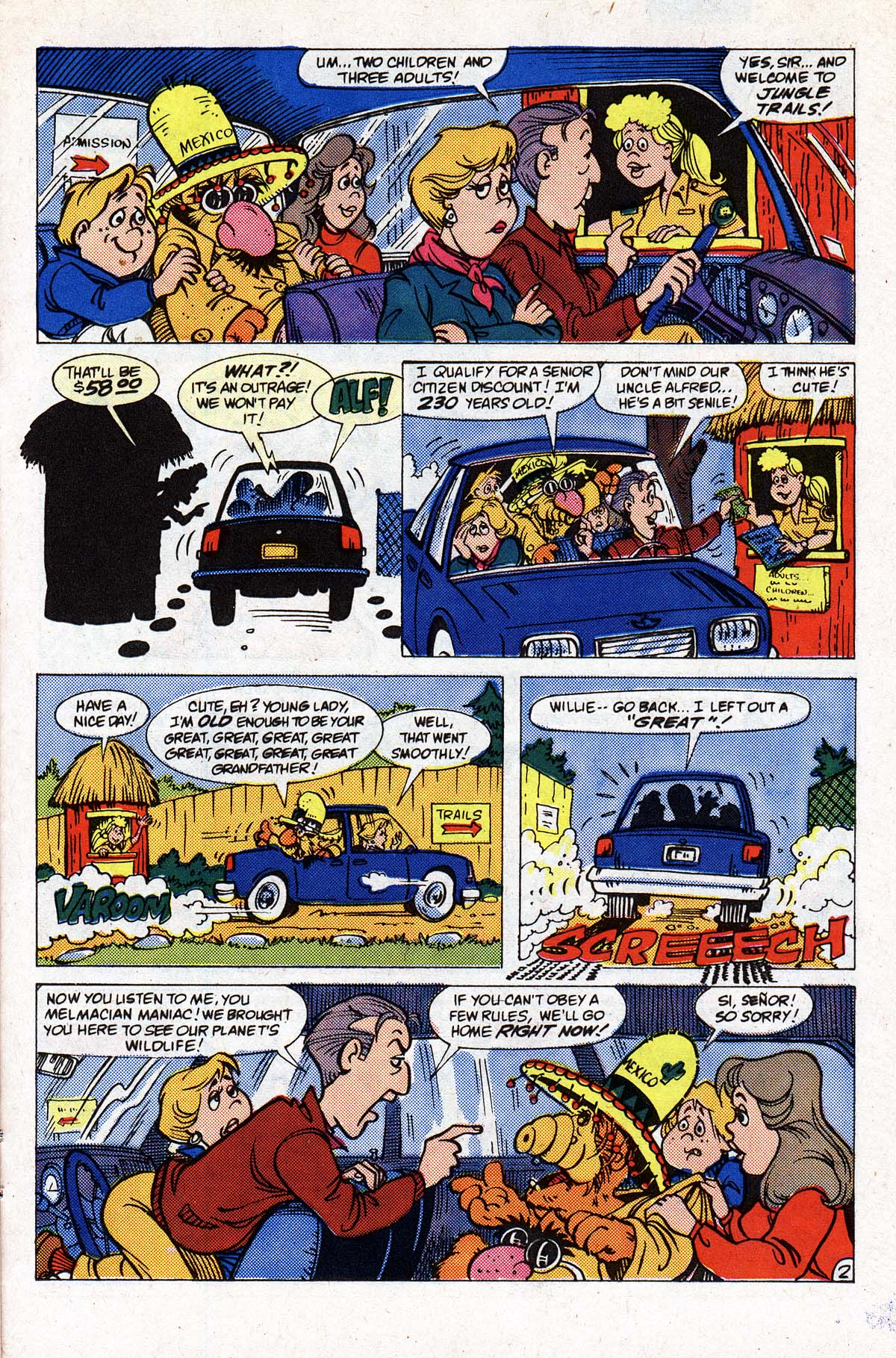 Read online ALF comic -  Issue #2 - 84