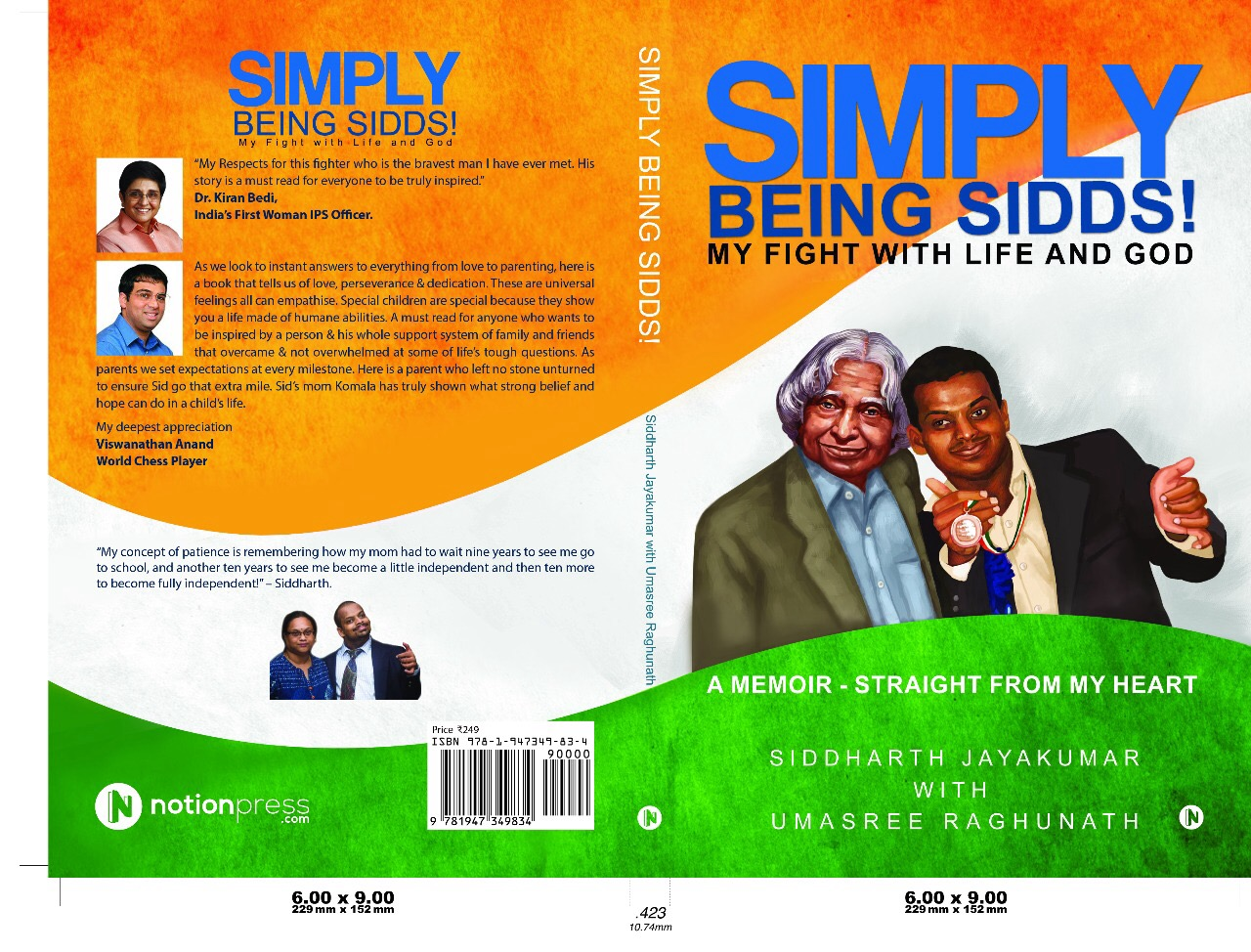 Simply Being Sidds!  - Published August 2017