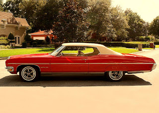 1970 Pontiac Bonneville Luxury Coupe Side Left
