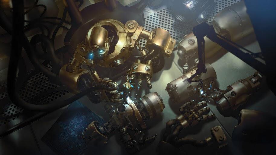 Assembly Bot, Legends of Runeterra, 4K, #3.1711