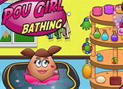 Pou Girl Bathing juego