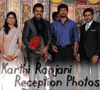 Karthik Sivakumar Marriage Wedding Reception Photos Stills