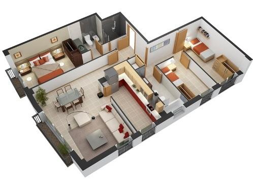Gambar Denah Rumah Minimalis Modern Terbaru Gambar Denah Rumah Minimalis Modern Terbaru
