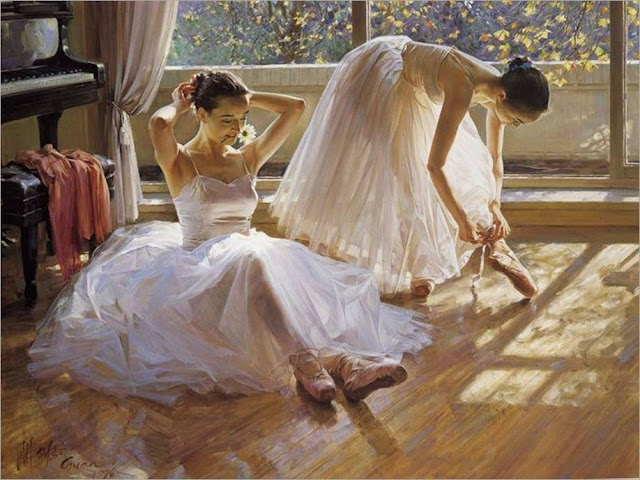 Images of a painted Dancers by a Great Painters
