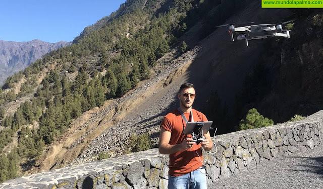 El MAB incorpora un dron para mejorar las inspecciones y prospecciones arqueológicas