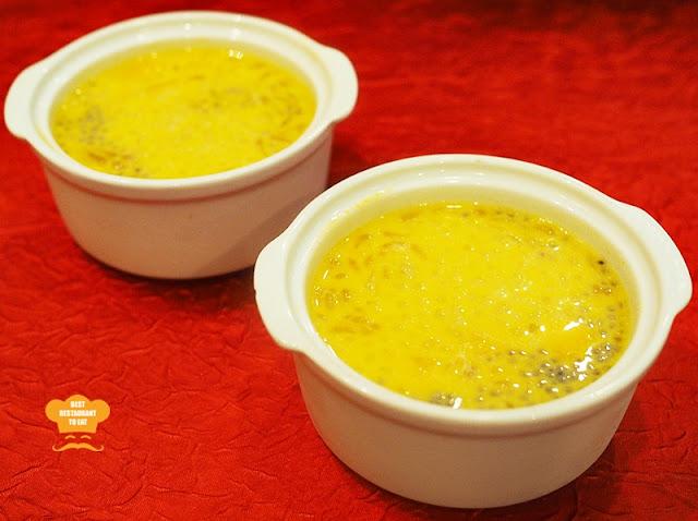 Pomelo Mango Pudding