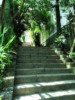 Escadaria entre Rua Cônego Viana e Dr Lauro de Oliveira, Porto Alegre
